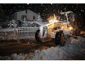 Sivas'ta yollar 5 bin 224 defa ulaşıma kapandı