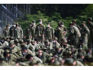 Japonya ordusu yaklaşık 30 yılın en büyük askeri tatbikatını gerçekleştirecek