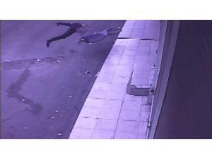 Evin balkonundan yere böyle düştü