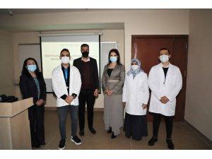 Ç.Ü'de radyolojik terörizm saldırısına karşı dozimetre geliştirdi