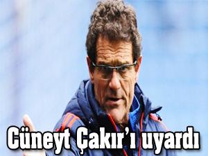 Cüneyt Çakır'ı uyardı