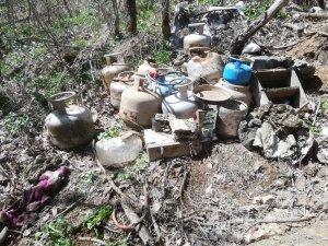 Bitlis kırsalında 12 odalı sığınak ele geçirildi