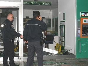 İzmir'deki bankaya saldırı