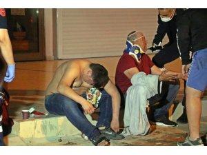 Kısıtlama saatinde kavga ettiler, hem dayak hem ceza yediler: 4 yaralı