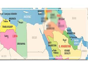 ABD'den Ortadoğu haritası