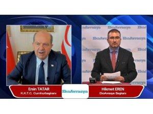 KKTC Cumhurbaşkanı Ersin Tatar: ''Cenevre'ye elimiz güçlü gidiyoruz ''
