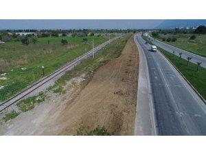 Manisa Büyükşehir Belediyesinden 30 bin metrekarelik peyzaj uygulaması