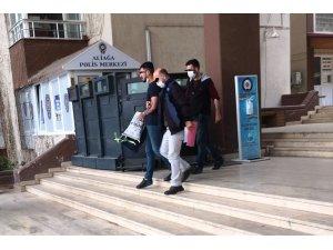Gaspçılar polisten kaçamadı