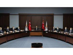 AK Parti Merkez Yürütme Kurulu (MYK), Cumhurbaşkanı Recep Tayyip Erdoğan başkanlığında toplandı.