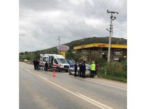 Tire'de panelvan aracın çarptığı yaya yaşamını yitirdi