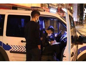 Sokağa çıkma kısıtlamasına uymayan 194 kişiye 174 bin 500 TL cezai işlem uygulandı