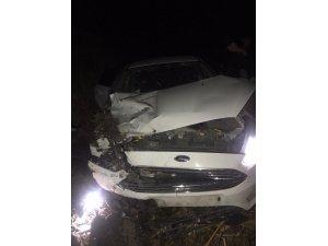 Bakan Koca, sağlık çalışanlarının kaza yaptığı otomobili paylaştı