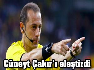 Cüneyt Çakır'ı eleştirdi