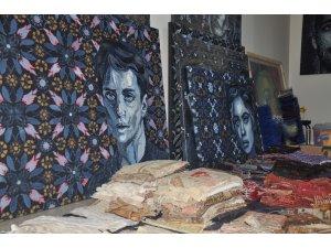 """Kot giysilerden insan portrelerine giden """"sanat dönüşümü"""""""