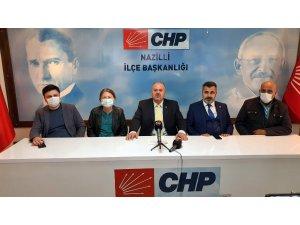 CHP Nazilli'de MYK tarafından atanan yönetim göreve başladı
