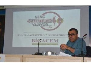 """ÇGD'den BİGACEM Başkanı Aygül'e """"Yerel Medya"""" ödülü"""