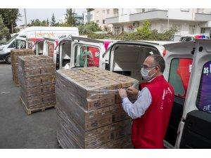 Büyükşehir Belediyesi, üreticiden aldığı 10 ton kuş üzümünü 200 bin çocuğa dağıtacak