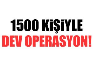 İstanbul'da bin 500 polisle bonzai operasyonu