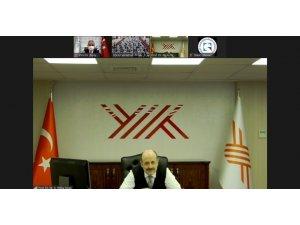 YÖK Başkanı Saraç, Tokat'taki toplantıya online katıldı