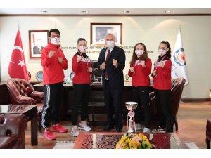 Altın kızların hedefi Avrupa şampiyonluğu
