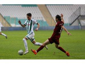Bursaspor'da İstanbulspor maçı öncesi dört eksik