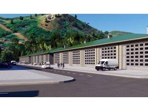 Akçaabat Küçük Sanayi Sitesi imar planına işlendi