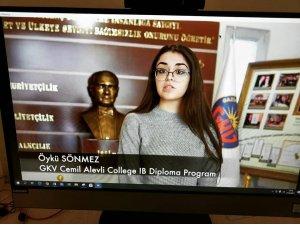 GKV öğrencisi 16. IB Günü'nde konuştu