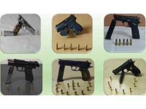 Ardahan'da ruhsatsız silah bulunduran 17 kişi hakkında soruşturma