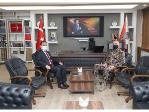Vali Akbıyık'tan Müdür Pınar'a ziyaret