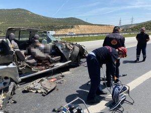 Kahramanmaraş'ta trafik kazası: 1 ölü, 2 yaralı