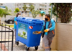 """Alanya Belediyesi """"Sıfır Atık"""" yatırımlarına devam ediyor"""