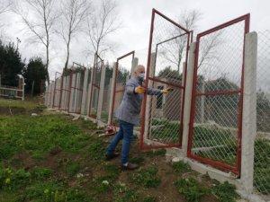Sinop'ta meslek lisesinden engelliler için salıncak