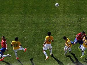 Brezilya Şili maçında tarihin değiştiği an!