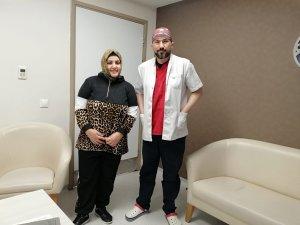 Organları doğuştan ters olan genç kadın sağlığına kavuştu