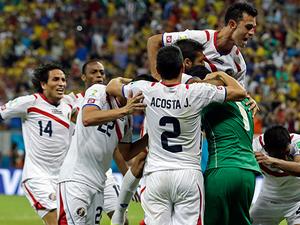 Kosta Rika çeyrek final biletini kaptı!