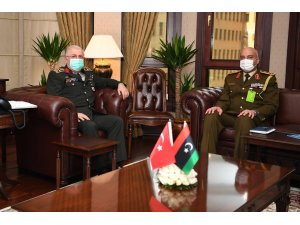 Genelkurmay Başkanı Güler, Libya Milli Birlik Hükümeti Genelkurmay Başkanı El-Haddad ile görüştü