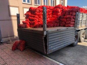 Alaplı'da ihtiyaç sahiplerine patates-soğan dağıtılacak