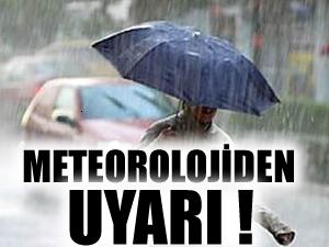 Dikkat beklenen yağış geliyor!