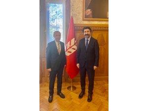 İş insanı Ulupınar'dan TBB Başkanı Çakar'a ziyaret