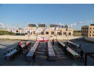 Cerablus'ta Türk Kızılayı'ndan yetimler için iftar programı
