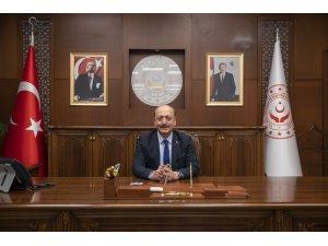 Çalışma ve Sosyal Güvenlik Bakanı Vedat Bilgin'den 23 Nisan Ulusal Egemenlik ve Çocuk Bayramı mesajı