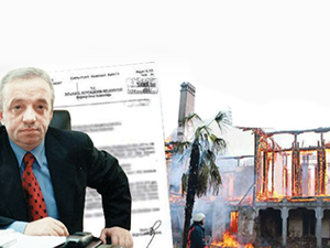 Hüseyin Avni Paşa Köşkü ile ilgili bomba belge