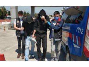 Samsun'da iş yerinde esrar ele geçti: 2 gözaltı
