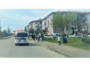 Düzce'de 23 Nisan konvoyu ilgi gördü