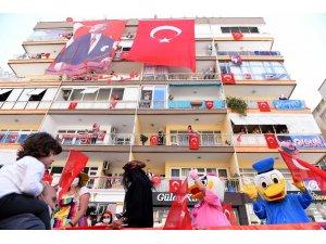 Muratpaşa'dan muhteşem 23 Nisan kutlaması