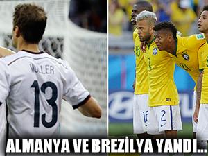 Almanya ve Brezilya'ya kötü haber