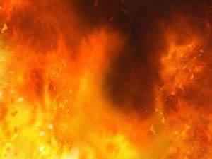 Madende yangın! 4 işçi hastaneye kaldırıldı
