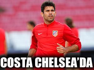 Chelsea Diego Costa'yı açıkladı