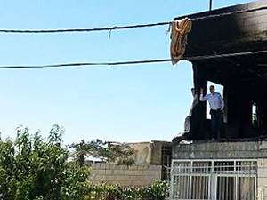 İsrail'den Filistinlilerin evine patlayıcı ile saldırı