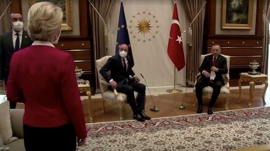 AB'nin en güçlü kadını Ankara'da yaşadıklarını anlattı: Kravatım olsa böyle olmazdı